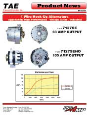 1-WIRE HOOK-UP alternator